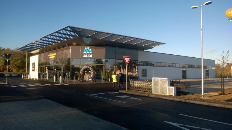 New Opening of Aldi store in Faenza